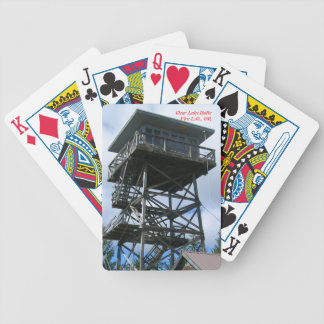 Clear Lake Butte Fire Lookout Bicycle Playing Cards