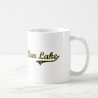 Clear Lake Iowa Classic Design Mugs