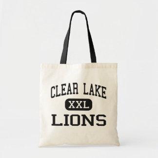 Clear Lake - Lions - High School - Clear Lake Iowa Canvas Bags