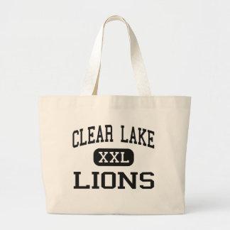 Clear Lake - Lions - Junior - Clear Lake Iowa Bags