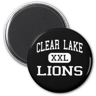 Clear Lake - Lions - Junior - Clear Lake Iowa 2 Inch Round Magnet