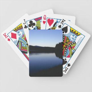 Clear Lake, Oregon, dawn Bicycle Playing Cards