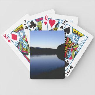 Clear Lake, Oregon, dawn Bicycle Playing Cards