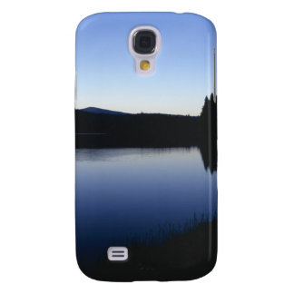 Clear Lake, Oregon, dawn Galaxy S4 Cover