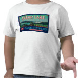 Clear Lake Pear Crate LabelLake County, CA T Shirts