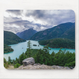 Clear Lakes Among the Mountains Mouse Pad