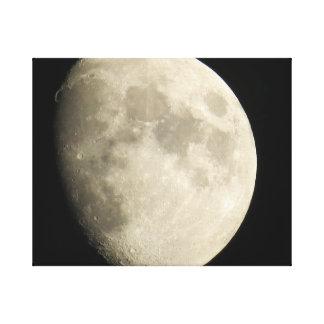 clear moon canvas prints