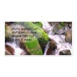 Clear Mountain Creek Custom Photo Card
