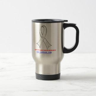 Clear Ribbon Travel Mug