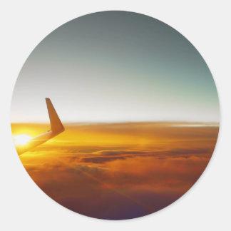 Clear skies sticker