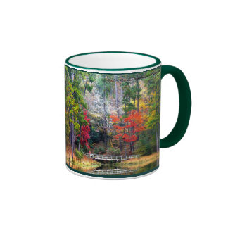 Clear Springs - Homochitto National Forest Ringer Coffee Mug