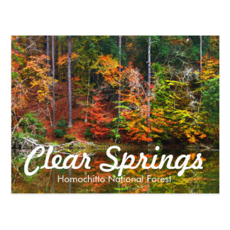 Clear Springs Recreation Area Post Cards