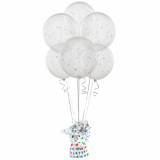 Clear Star Balloons Ornament Photo Sculpture Ornament