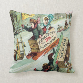 Clear The Track Throw Pillow