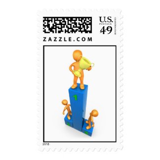 Clear Victory Postage Stamp
