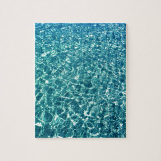 Clear Water Blue Jigsaw Puzzle
