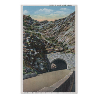 Clear Water Canyon, Colorado Poster