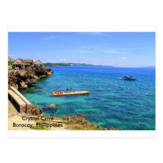 Clear waters at Boracay Island Postcard