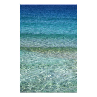 Clear Waters Stationery Design