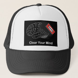 Clear Your Mind Trucker Hat