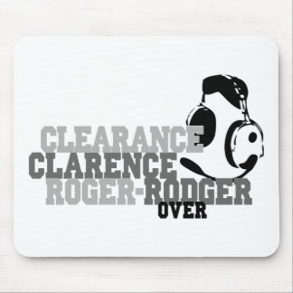 Clearance Clarence Roger Rodger Over Mouse Pad