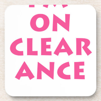 Clearance Coaster