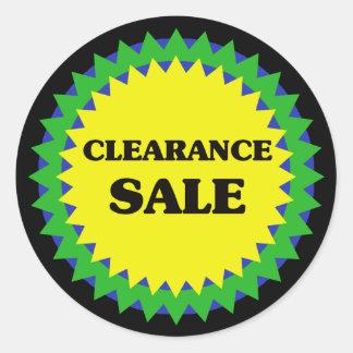 CLEARANCE SALE Retail Sale Sticker
