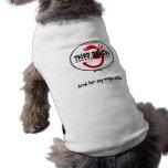 clearbackground, criado para mis habilidades del n camiseta de perro