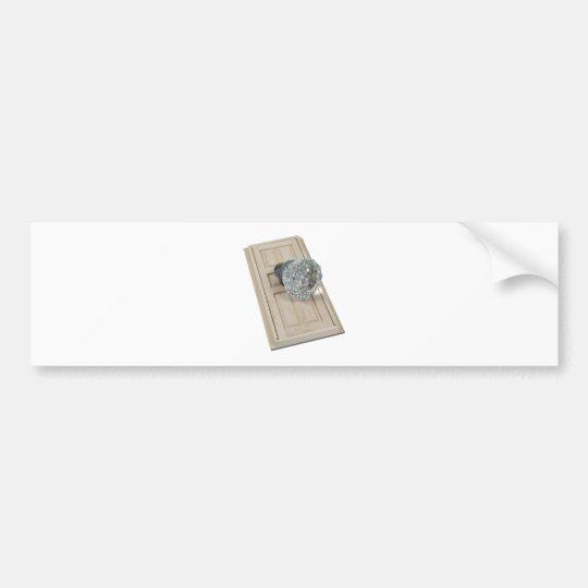 ClearCrystalKnobDoor021411 Bumper Sticker