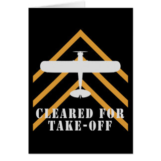 Cleared For Take Off Greeting Cards