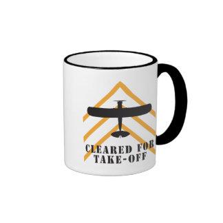 Cleared For Take Off Ringer Mug