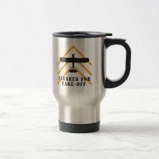 Cleared For Take Off Travel Mug