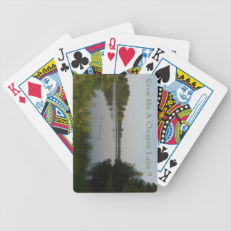 Clearer Lake Bicycle Playing Cards