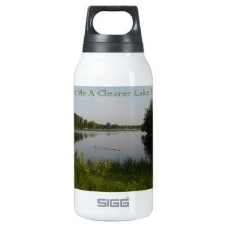 Clearer Lake Insulated Water Bottle