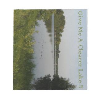 Clearer Lake Notepad