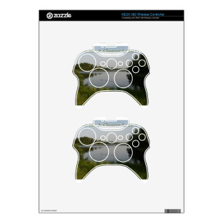 Clearer Lake Xbox 360 Controller Skins