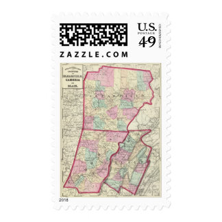 Clearfield, Cambria, Blair counties Postage