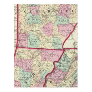 Clearfield, Cambria, Blair counties Postcards