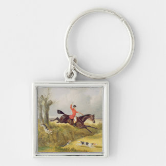 Clearing a Ditch, 1839 (oil on panel) Keychain
