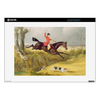 Clearing a Ditch, 1839 (oil on panel) Laptop Skins