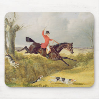 Clearing a Ditch, 1839 (oil on panel) Mouse Pad