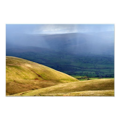Clearing Shower - The Howgills Photo Print