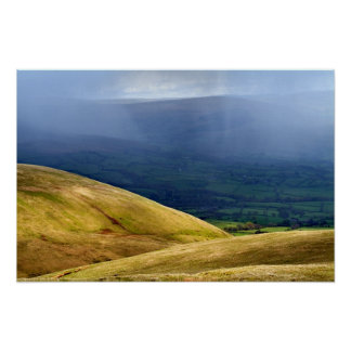 Clearing showers, The Howgill Fells Poster