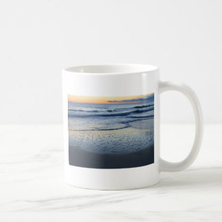 clearing storm at the beach coffee mug