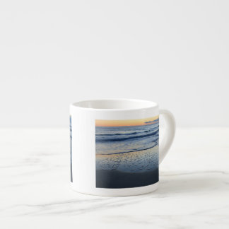 clearing storm at the beach espresso cup