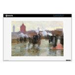 "Clearing Sunset  by Hassam 13"" Laptop Decal"