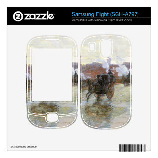 Clearing Sunset  by Hassam Skin For Samsung Flight