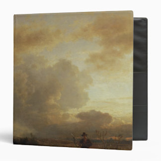 Clearing Thunderstorm in the Countryside, 1857 3 Ring Binder