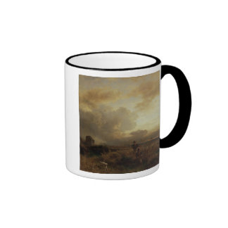 Clearing Thunderstorm in the Countryside, 1857 Ringer Mug