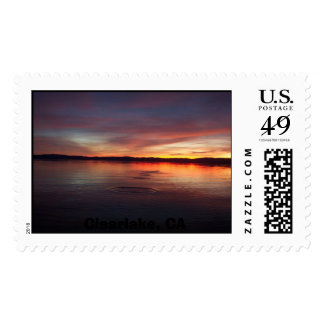 Clearlake, CA Stamp